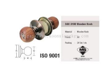 ST GUCHI_SGC 3100 Wooden Knob