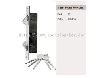 ST GUCHI_ 2684 Double Hook Lock