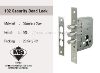 ST GUCHI_102 Security Dead Lock