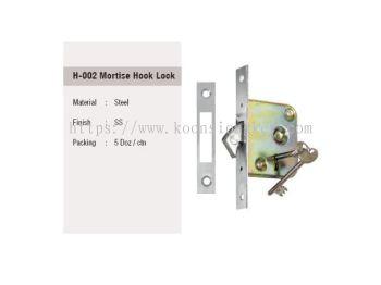 ST GUCHI_H-002 Mortise Hook Lock