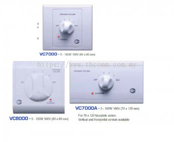 VC7000_VC8000 VOLUME CONTROLLER