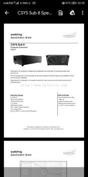 Audiofrog 5.1 speaker