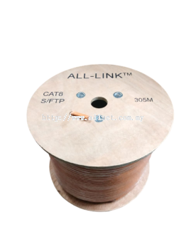 ALL-LINK CAT 8 4PAIR FTP CABLE - 305METER