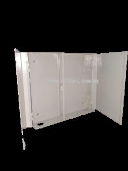24PORT SC/ST SIMPLEX  PATCH PANEL DOOR TYPE (BEIGE/BLACK)