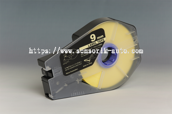 3476A027AB LABEL TAPES, YELLOW, W-9MM