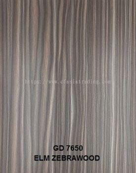CODE : GD7650 ELM ZEBRAWOOD