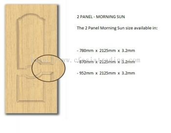 2 PANEL - MORNING SUN