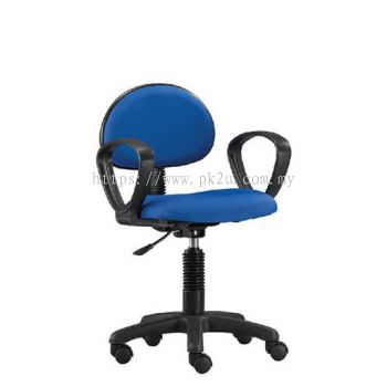 PK-TSOC-1-L1 - Task III Typist Chair With Armrest