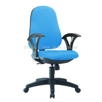 PK-TSOC-16-A-C1 - Task II Typist Chair With Armrest