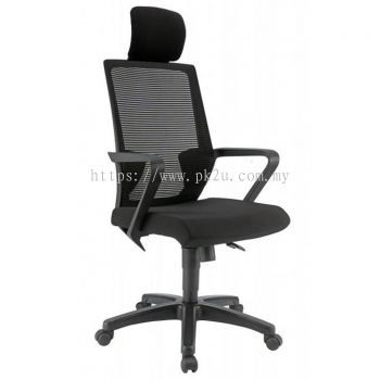 ANGLE - High Back Mesh Chair with PP Base (C1-BCMC-12-H-PP)