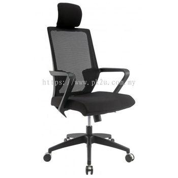 ANGLE - High Back Mesh Chair with Nylon Base (C1-BCMC-12-H)