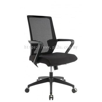 ANGLE - Mid Back Mesh Chair with Nylon Base (C1-BCMC-12-M)