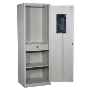 MFHW-1 - SIngle Swing Door Full Height Wardrobe