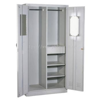 MFHW-2 - Double Swing Door Full Height Wardrobe
