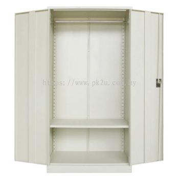 MFHW-5 - Double Swing Door Full Height Wardrobe