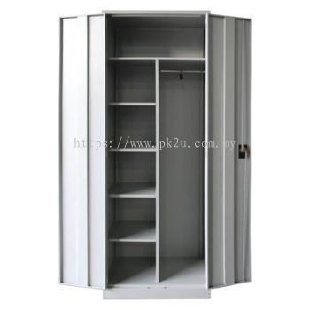 MFHW-6 - Double Swing Door Full Height Wardrobe