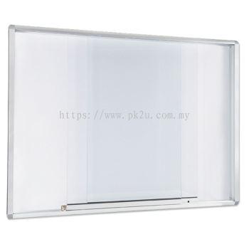 Sliding Glass Cabinet �C Aluminium Frame