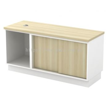 SC-YOS-6120 - Open Shelf + Sliding Door