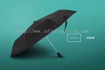 UM09 UMBRA- 21.5'' Tri Fold Auto Umbrella