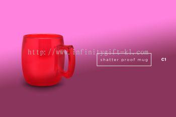 C1 Shatter Proof Mug (325ml)