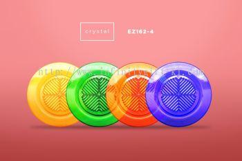 EZ162-4 CRYSTAL Drink Coaster - 4pcs Set with box