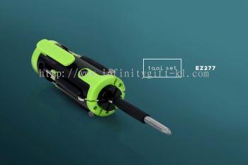 EZ277 8 in 1 Magnetic Head Tool Set w/ 4 LED Lights
