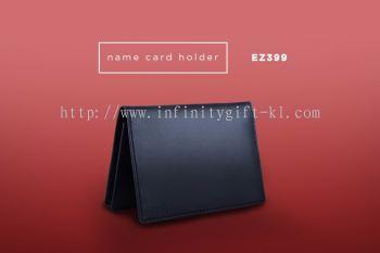 EZ399 Genuine Leather Business Card Holder
