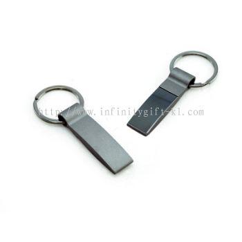 KH032 Metal Keychain in Rectangular