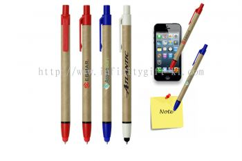 Eco80 Stylus Recycled Paper Pen