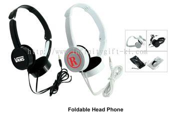 EL037 Foldable Head Phone