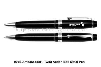 903B Ambassador - Twist Action Ball Metal Pen