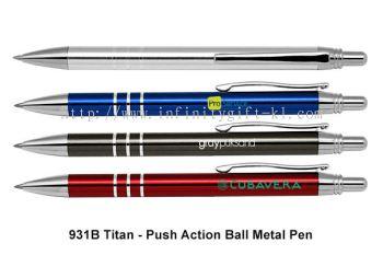 931B Titan - Push Action Ball Metal Pen