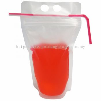Drink Bag With Zipper 500ml 13 x 23 Plain x 150 pcs