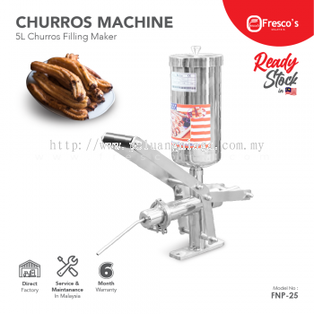 Churro Filling Machine 5L