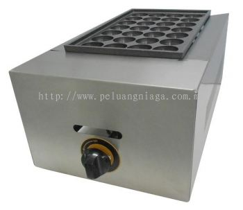 Takoyaki Machine Gas 1 plate , 28 Hole