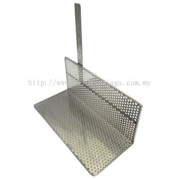 Long Potato L Rack Stainless Steel