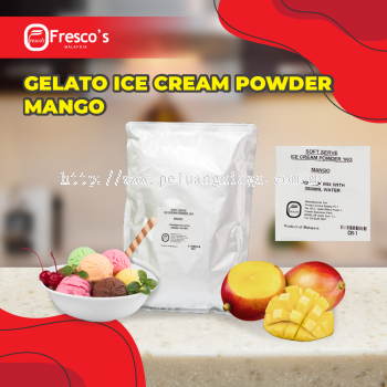 Gelato Hard Ice Cream Powder 1KG MANGO