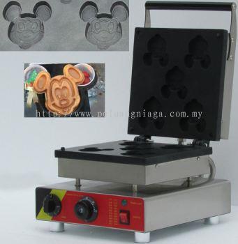 Waffle Mickey Mouse Maker Machine