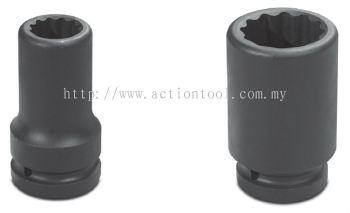 1-1/2���� Dr.,����SAE���� Deep Length Impact Sockets