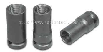 1/2'' Dr., Wheel Lug Nut Removing Sockets (Deep)