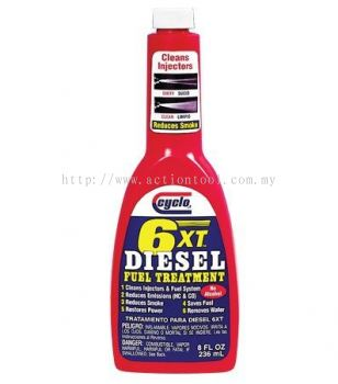 6XT DIESEL FUEL TREATMENT  (C261)