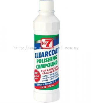 No7 CLEARCOAT POLISHING COMPOUND (06610)