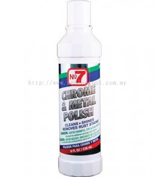 No7 CHROME & METAL POLISH (10120)