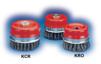 Twist Knot Cup Brushes (KCR - KRO)