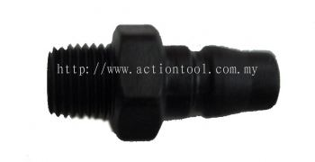 "ACT 1/4"" AIR QUICK MALE PLUGS"