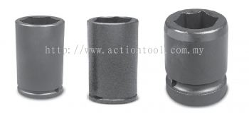 3/4¡¯¡¯Dr.,¡®¡¯METRIC¡¯¡¯ Standard Length Impact Sockets (6-Point)