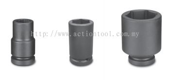 1-1/2����Dr.,����SAE���� Deep Length Impact Socket(6-Point)