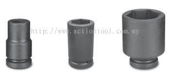 1-1/2¡¯¡¯Dr.,¡®¡¯METRIC¡¯¡¯ Deep Length Impact Socket (6-Point)