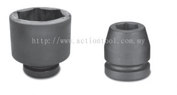 2-1/2''Dr.,''METRIC'' Standard Length Impact Sockets (6-Point)