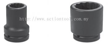 1¡¯¡¯ Dr.,''METRIC¡¯¡¯ Standard Length Impact Sockets (12-Point)
